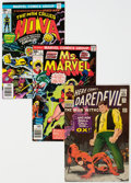 Modern Age (1980-Present):Miscellaneous, Marvel Silver-Modern Age Group of 37 (Marvel, 1960s-80s) Condition: Average FN.... (Total: 37 Comic Books)