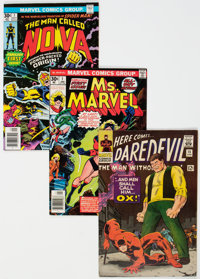 Marvel Silver-Modern Age Group of 37 (Marvel, 1960s-80s) Condition: Average FN.... (Total: 37 Comic Books)