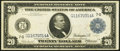 Large Size:Federal Reserve Notes, Fr. 988 $20 1914 Federal Reserve Note Very Fine+.. ...
