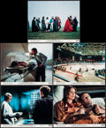 "Movie Posters:Science Fiction, Rollerball & Other Lot (United Artists, 1975). Overall: Very Fine-. Mini Lobby Cards (5) & Photos (5) (8"" X 10""). Sci..."