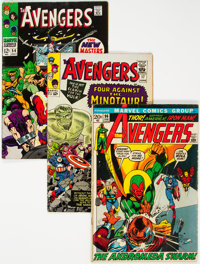 The Avengers Group of 26 (Marvel, 1965-76) Condition: Average GD.... (Total: 26 )