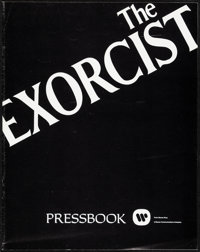 """The Exorcist (Warner Bros., 1974). Very Fine+. Uncut Pressbook (16 Pages, 11"""" X 14""""). Horror"""