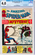 Silver Age (1956-1969):Superhero, The Amazing Spider-Man #13 (Marvel, 1964) CGC VG 4.0 Off-white pages....