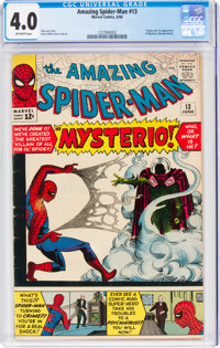 The Amazing Spider-Man #13 (Marvel, 1964) CGC VG 4.0 Off-white pages