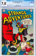 Golden Age (1938-1955):Science Fiction, Strange Adventures #16 (DC, 1952) CGC FN/VF 7.0 White pages....