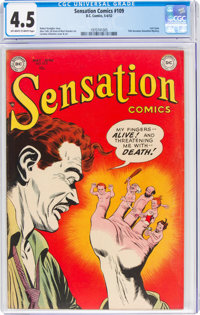 Sensation Comics #109 (DC, 1952) CGC VG+ 4.5 Off-white to white pages