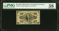 Fractional Currency:Third Issue, Fr. 1255 10¢ Third Issue PMG Choice About Unc 58.. ...