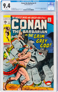 Bronze Age (1970-1979):Adventure, Conan the Barbarian #3 (Marvel, 1971) CGC NM 9.4 White pages....