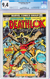 Astonishing Tales #25 Deathlok (Marvel, 1974) CGC NM 9.4 White pages