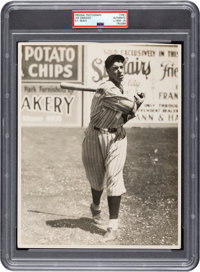1933 Joe DiMaggio Original Photograph Used for 1935 Pebble Beach Clothiers Postcard, PSA/DNA Type 1
