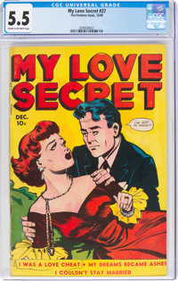 My Love Secret #27 (Fox Features Syndicate, 1949) CGC FN- 5.5 Cream to off-white pages