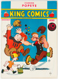 Platinum Age (1897-1937):Miscellaneous, King Comics #20 Lost Valley Pedigree (David McKay Publications, 1937) Condition: VG/FN....