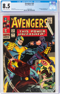 The Avengers #29 (Marvel, 1966) CGC VF+ 8.5 Off-white to white pages