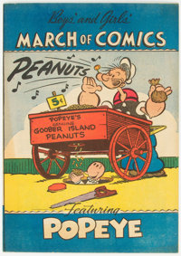 March of Comics #66 Popeye (K. K. Publications, Inc., 1951) Condition: NM