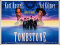 "Movie Posters:Western, Tombstone (Entertainment, 1994). Rolled, Very Fine+. British Quad (30"" X 40""). Western.. ..."