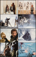 "Movie Posters:Science Fiction, The Empire Strikes Back (20th Century Fox, 1980). Very Fine+. Deluxe Mini Lobby Card Set of 8 (8"" X 10""). Science Fic..."