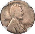 1943 1C Lincoln Cent -- Struck on a Dime Blank -- AU55 NGC