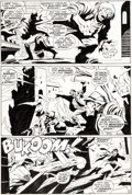 Original Comic Art:Panel Pages, John Buscema and Sal Buscema Silver Surfer #7 Page 4 Original Art (Marvel Comics, 1969)....