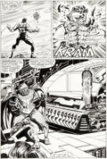 Original Comic Art:Panel Pages, John Buscema and Tom Palmer Avengers #267 Story Page 29 Original Art (Marvel Comics, 1986)....