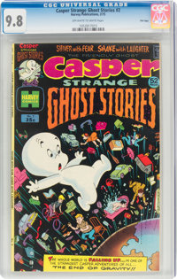 Casper Strange Ghost Stories #2 File Copy (Harvey, 1975) CGC NM/MT 9.8 Off-white to white pages