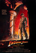 """Movie Posters:Adventure, Indiana Jones and the Temple of Doom (Paramount, 1984). Rolled, Very Fine+. One Sheet (27"""" X 40"""") Style A, Bruce Wolf..."""