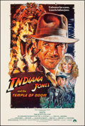"""Movie Posters:Adventure, Indiana Jones and the Temple of Doom (Paramount, 1984). Rolled, Very Fine+. One Sheet (27"""" X 40"""") Style B, Drew Struz..."""