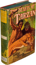 Books:Literature 1900-up, Edgar Rice Burroughs. The Beasts of Tarzan. New York: Grosset & Dunlap, Publishers, [1916, though actually 1935 as p...