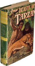 Books:Fiction, Edgar Rice Burroughs. The Beasts of Tarzan. Chicago: A. C. McClurg & Co., 1916. First edition of the third Tarzan st...