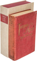 Books:Fiction, Edgar Rice Burroughs. Tarzan of the Apes. Chicago: A. C. McClurg & Co., 1914. First edition, first state. Inscribe...