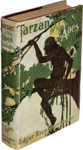 Books:Fiction, Edgar Rice Burroughs. Tarzan of the Apes. Chicago: A. C. McClurg & Co., 1914. First edition, fi...