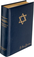 Books:World History, David Ben-Gurion. Israel. A Personal History. New York: Funk & Wagnalls, [1971]. ...