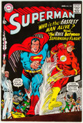 Silver Age (1956-1969):Superhero, Superman #199 (DC, 1967) Condition: VG+....