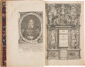 Books:Literature Pre-1900, Ben Jonson. The Workes of Benjamin Jonson. [London]: Printed by Richard Bishop [and Robert Youn...