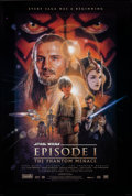 """Movie Posters:Science Fiction, Star Wars: Episode I - The Phantom Menace (20th Century Fox, 1999). Rolled, Very Fine+. One Sheet (26.75"""" X 39.75"""") D..."""