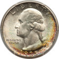1935-D 25C MS67 PCGS. PCGS Population: (24/0 and 6/0+). NGC Census: (15/0 and 1/0+). CDN: $1,150 Whsle. Bid for NGC/PCGS...