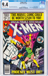 X-Men #137 (Marvel, 1980) CGC NM 9.4 Off-white to white pages