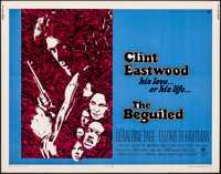 """The Beguiled (Universal, 1971). Rolled, Fine/Very Fine. Half Sheet (22"""" X 28""""). Thriller"""