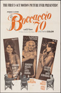 """Movie Posters:Foreign, Boccaccio '70 (Embassy, 1962). Folded, Overall: Fine+. One Sheet (27"""" X 41""""), Photos (5) (8"""" X 10""""), & Lobby Card Set of 4 (... (Total: 10 Items)"""