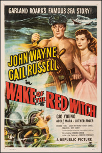 """Wake of the Red Witch (Republic, 1949). Fine- on Linen. One Sheet (27"""" X 41""""). Adventure"""