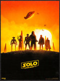 """Movie Posters:Science Fiction, Solo: A Star Wars Story (Walt Disney Studios, 2018). Very Fine+. IMAX Mini Posters (2) (9.5"""" X 13"""") 2 Styles. Science..."""