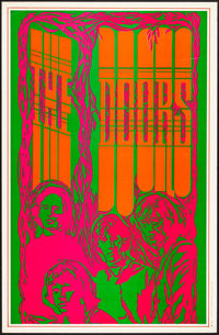 """The Doors (Saladin, 1967). Very Fine+. Head Shop Poster (13"""" X 20""""). Rock and Roll"""