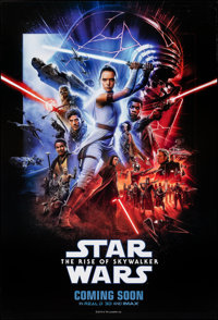"Star Wars: The Rise of Skywalker (Walt Disney Studios, 2019). Rolled, Very Fine+. International One Sheet (27"" X 39..."
