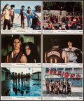 """Movie Posters:Action, The Warriors (Paramount, 1979). Very Fine. Mini Lobby Cards (6) (8"""" X 10""""). Action.. ... (Total: 6 Items)"""