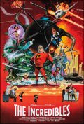 """Movie Posters:Animation, The Incredibles & Other Lot (Buena Vista, 2004). Rolled, Very Fine/Near Mint. One Sheets (2) (27"""" X 40"""") DS Robert McGinnis ... (Total: 2 Items)"""
