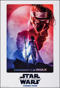 """Movie Posters:Science Fiction, Star Wars: The Rise of Skywalker (Walt Disney Studios, 2019). Rolled, Near Mint. IMAX One Sheet (27"""" X 39.75"""") DS Advance, P..."""
