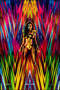 """Wonder Woman 1984 (Warner Bros., 2020). Rolled, Very Fine/Near Mint. One Sheet (27"""" X 40"""") DS, Advance. Action..."""