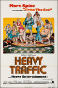 """Movie Posters:Animation, Heavy Traffic & Other Lot (American International, 1973). Folded, Very Fine-. One Sheets (2) (27"""" X 41"""") & Mini Lobby Cards ... (Total: 5 Items)"""