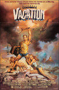 "Movie Posters:Comedy, National Lampoon's Vacation (Warner Bros., 1983). Folded, Very Fine-. One Sheet (27"" X 41""). Boris Vallejo Artwork. Comedy...."