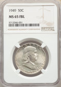 1949 50C MS65 Full Bell Lines NGC. NGC Census: (437/75). PCGS Population: (1388/341). CDN: $120 Whsle. Bid for NGC/PCGS...