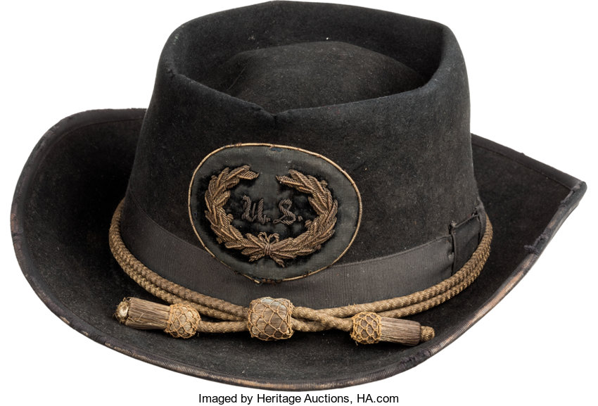 Militaria:Uniforms, Gen. William Tecumseh Sherman: His Campaign Hat. ...
